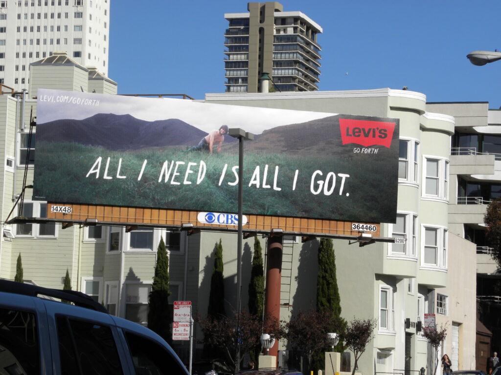 Levi's ad