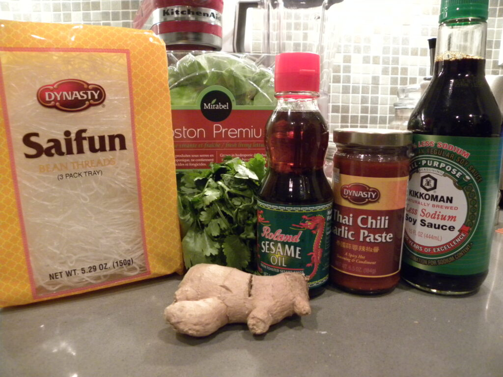 spicy asian lettuce wrap ingredients