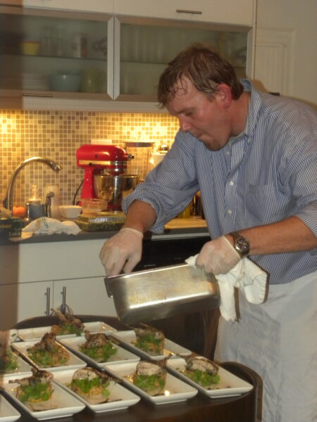 CHEF BRIAN POE COOKING AT HOME