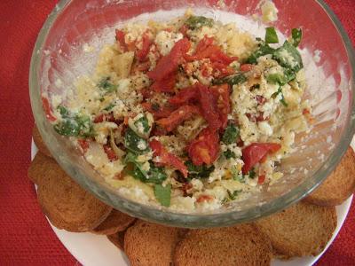 Sun-Dried Tomato and Artichoke Dip