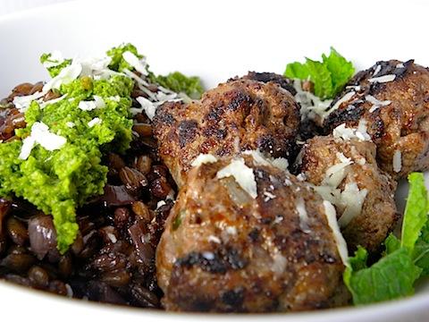 it s my lamb chops with cilantro mint lamb meatballs with cilantro ...
