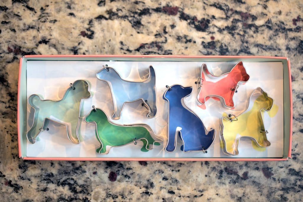 Meri Meri Dog Cookie Cutters | wearenotmartha.com