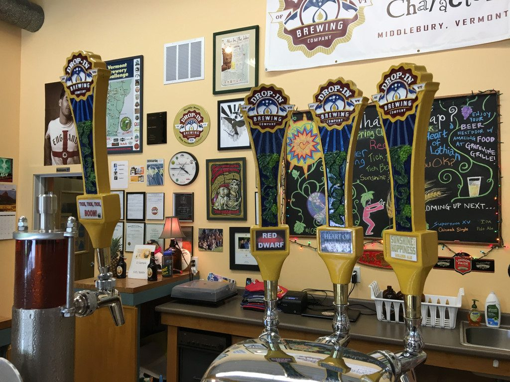 Drop-In Brewing Co. -- Brewery visits in Middlebury, Vermont | wearenotmartha.com