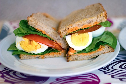 Egg, Lettuce, and Tomato Sandwich with Sriracha Mayo 2.jpg