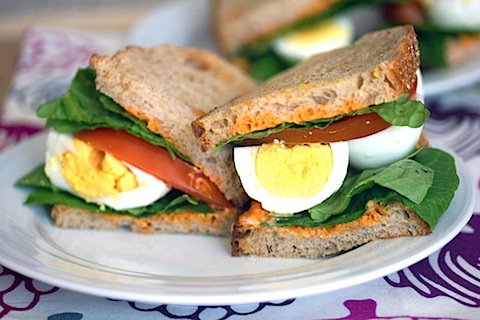 Egg, Lettuce, and Tomato Sandwich with Sriracha Mayo 4-1.jpg