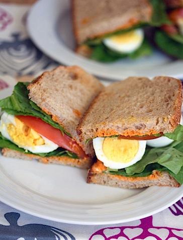 Egg, Lettuce, and Tomato Sandwich with Sriracha Mayo 5-1.jpg