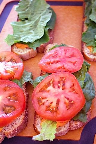 Egg, Lettuce, and Tomato Sandwich with Sriracha Mayo Layered.jpg