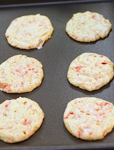 Egg Nog Peppermint Cookies- Cookies Baked.jpg