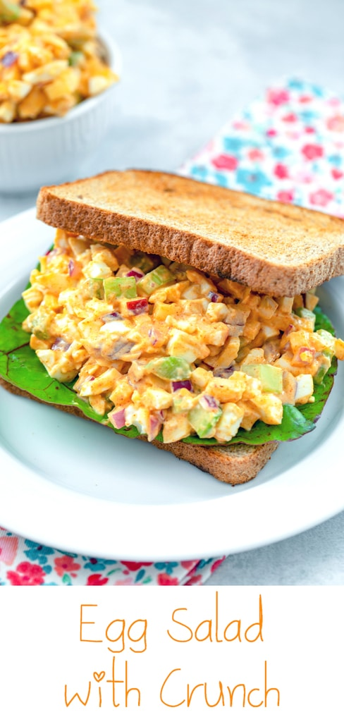 Egg Salad with Lots of Crunch