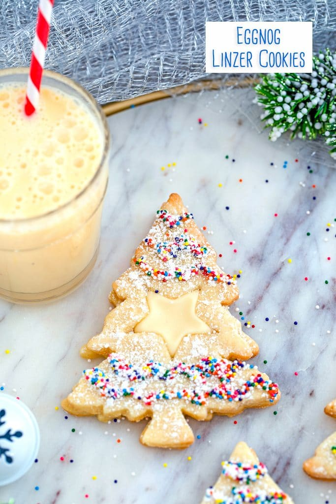 Eggnog Linzer Cookies Recipe We Are Not Martha