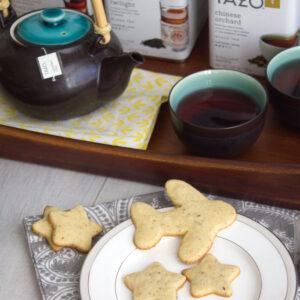 Egyptian Ruby Tea Cookies -- Cookies made with TAZO® Tea | Wearenotmartha.com