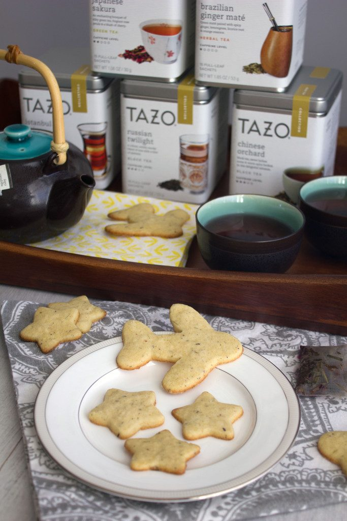Egyptian Ruby Tea Cookies -- Cookies made with TAZO® Tea | Wearenotmartha.com