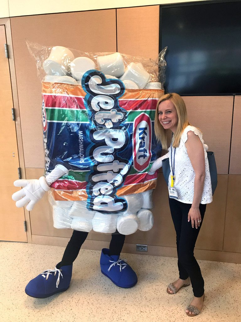 Sues and Jet-Puffed Marshmallows Everything Food Conference | wearenotmartha.com