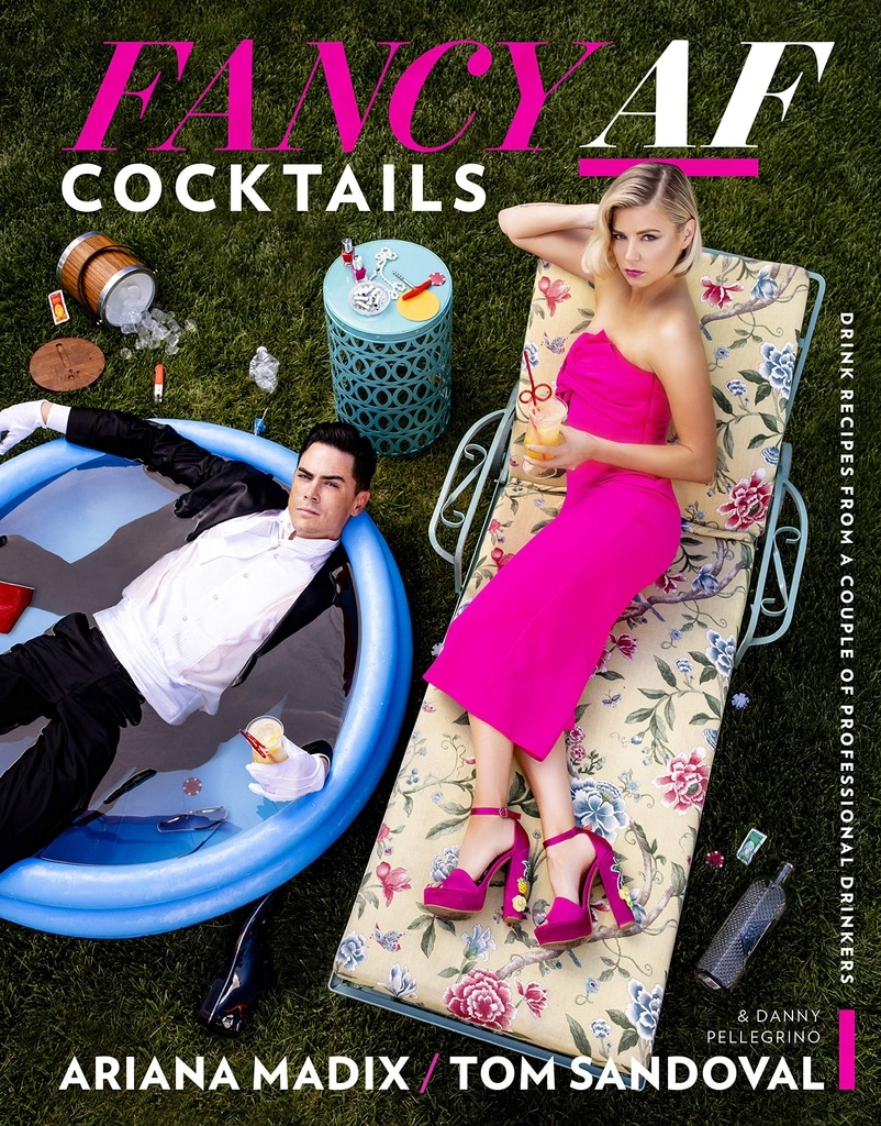 Coe of Fancy AF Cocktails Book with Ariana Madix and Tom Sandoval