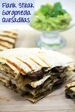 Flank Steak Gorgonzola Quesadillas.psd