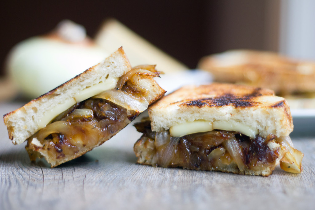 French Onion Grilled Cheese Sandwich 6