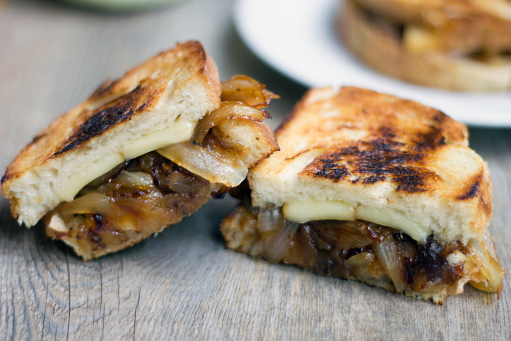French Onion Grilled Cheese Sandwich 7