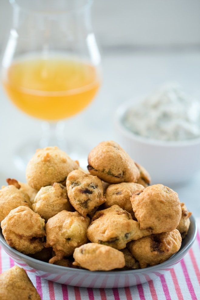 Beer Batter Fried Brussels Sprouts