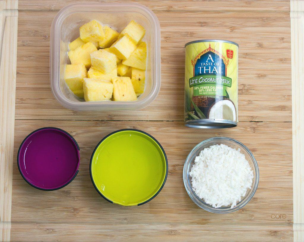 Frozen Pineapple Coconut Margarita Ingredients | wearenotmartha.com