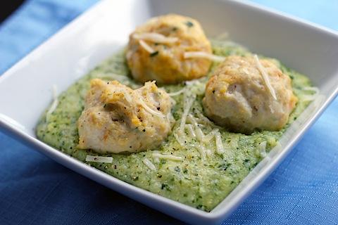 Chicken With Garlic And Parmesan Polenta Recipe — Dishmaps
