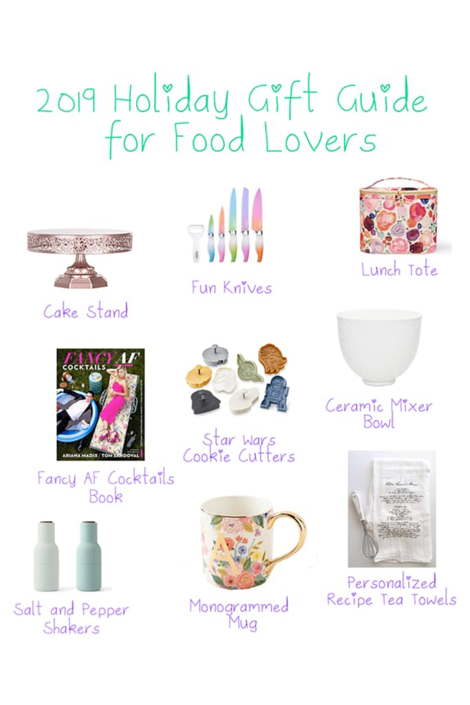 2019 Holiday Gift Guide for Food Lovers