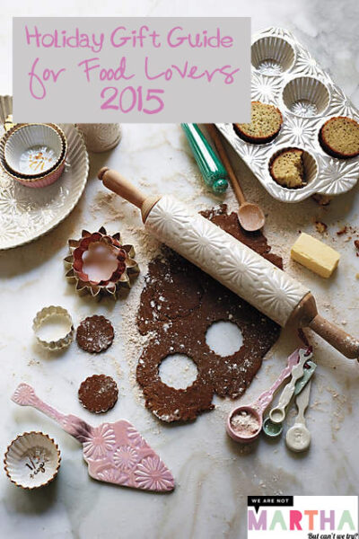 2015 Holiday Gift Guide for Food Lovers
