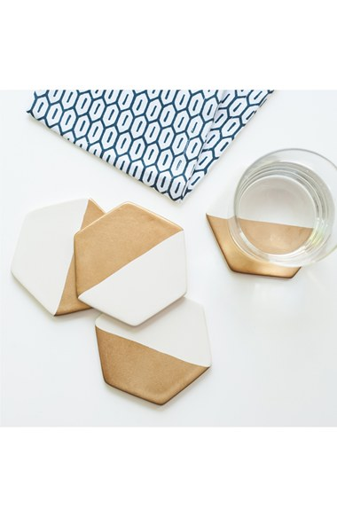 Giled Ceramic Coasters