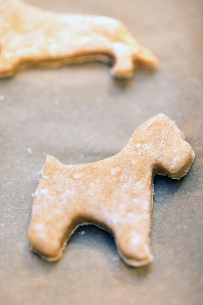 Meri Meri Dog Cookie Cutters to make Gingerbread Cookies for Dogs | wearenotmartha.com