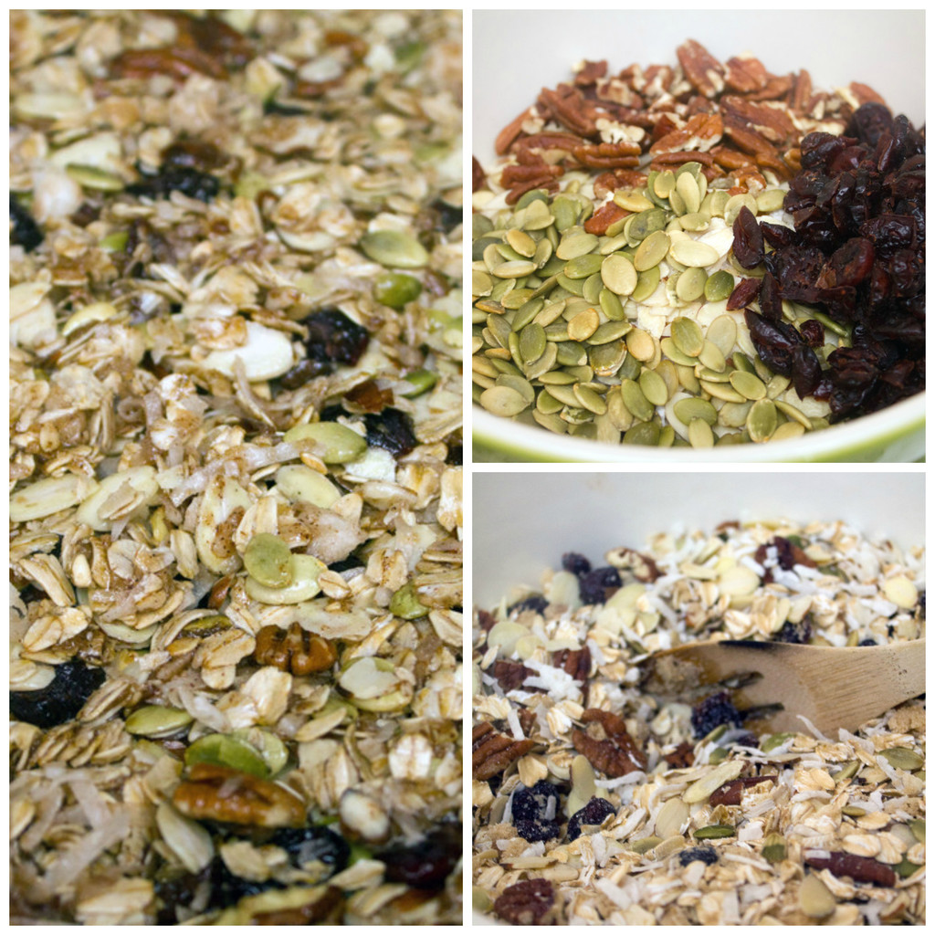 Granola-Making