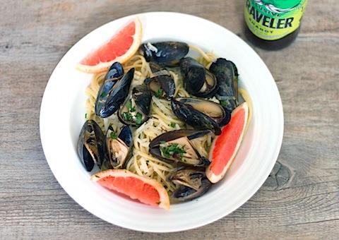 Grapefruit Shandy Mussels with Grapefruit Linguine 10.jpg