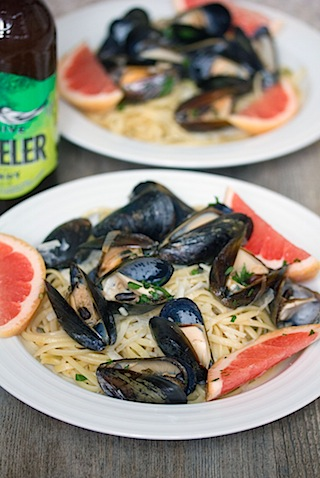Grapefruit Shandy Mussels with Grapefruit Linguine 4.jpg