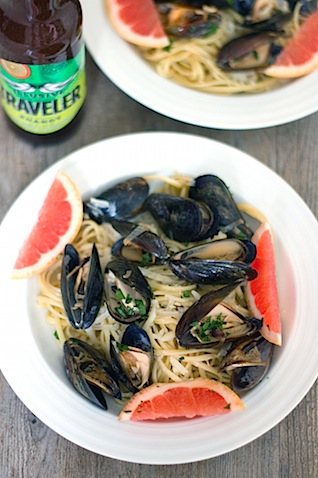 Grapefruit Shandy Mussels with Grapefruit Linguine 7.jpg