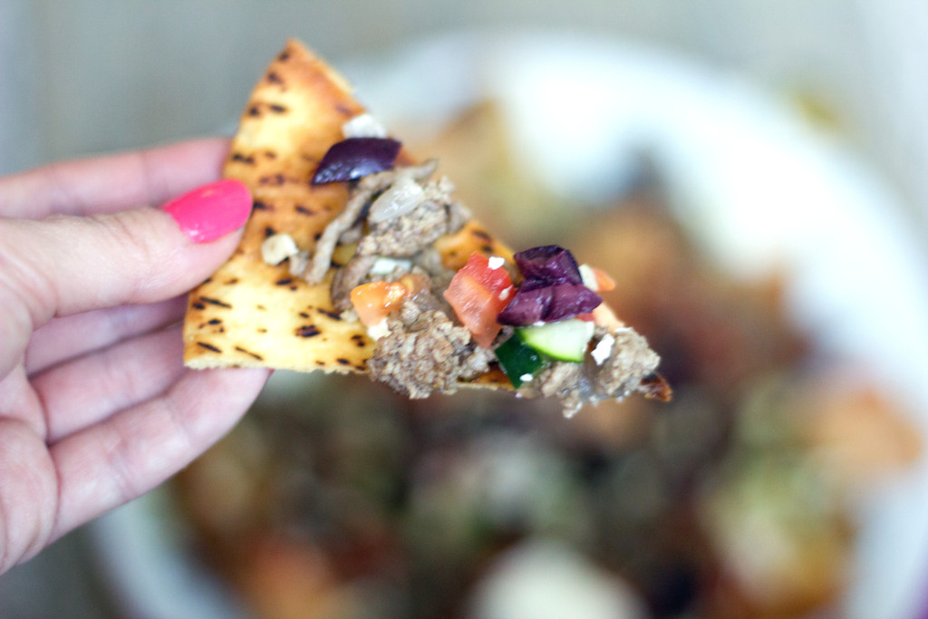 Greek Nachos with Ground Lamb 2