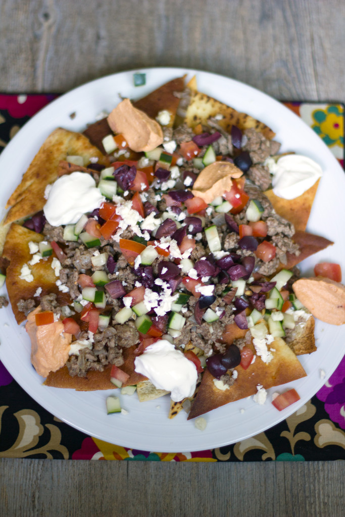 Greek Nachos with Ground Lamb 9
