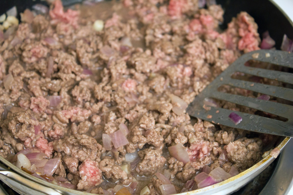 Ground Lamb Saute