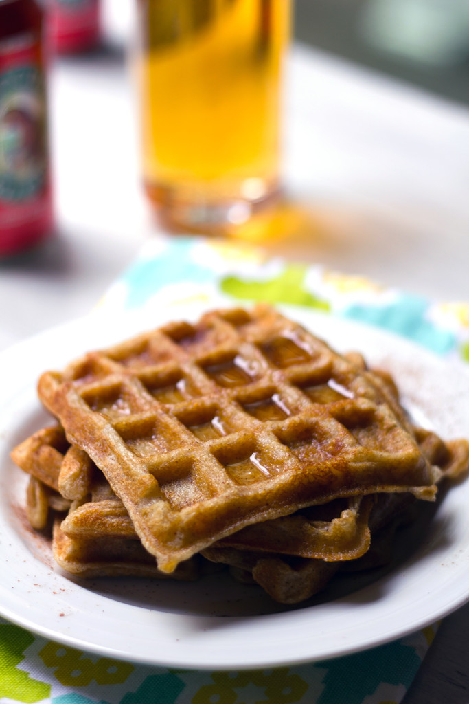 Hard Cider Waffles 4