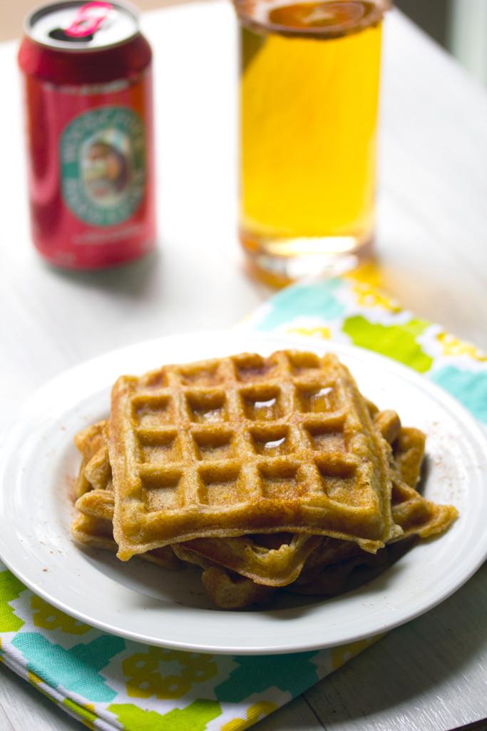 Hard Cider Waffles 9