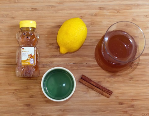 honey 1 C hot water 6 T apple bourbon (recipe below) or plain bourbon ...