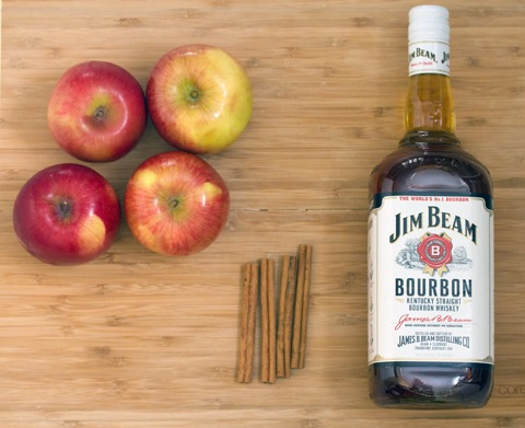 Honey Apple-Bourbon Toddy | We are not Martha