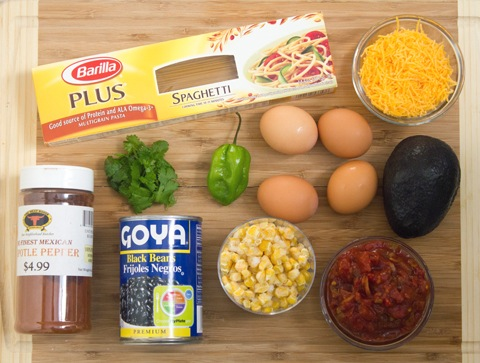 Huevos Rancheros Spaghetti Ingredients.jpg