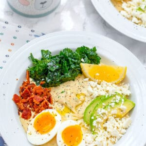Hummus Breakfast Bowls