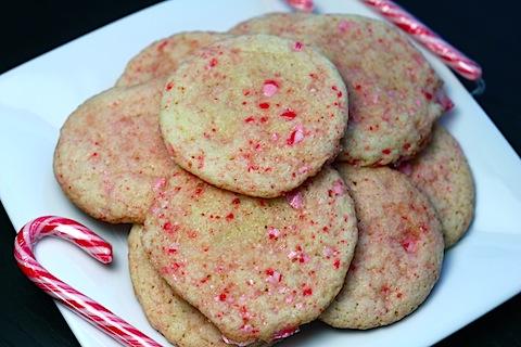 Sparkling Peppermint Sugar Cookies