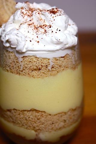 Eggnog Pudding Trifles