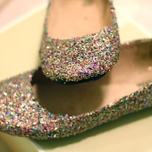 Make Your Own Glitter Flats