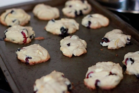 Blueberry, Lemon, White Chocolate Chunk Cookies . My favorite cookie ...