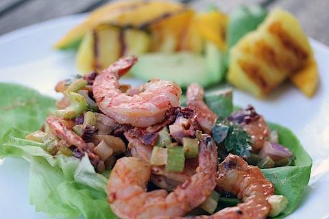 Spicy Chipotle Shrimp Salad
