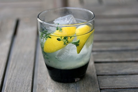 Tequila Thyme Lemonade