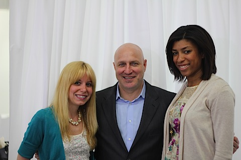 Sues and Chels with Chef Tom Colicchio