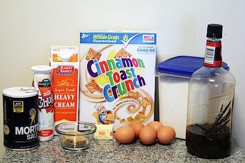 Cinnamon Toast Crunch Ice Cream Ingredients | wearenotmartha.com