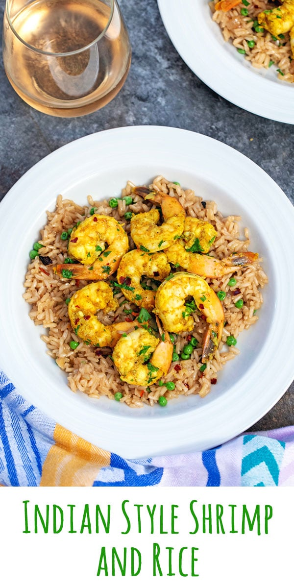 Indian Style Shrimp and Rice
